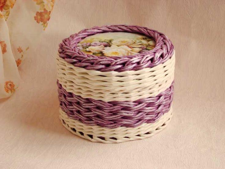 Плетение из газет - Плетение из газет и другие рукоделия - Тема: плетенки от марины (26/30)