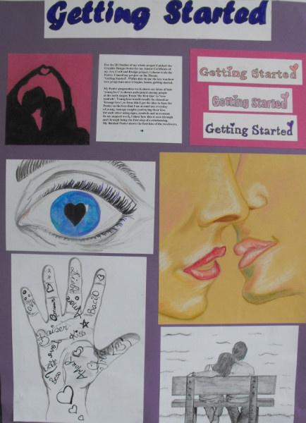 Hazelwood College » Blog Archive » Junior Certificate Art projects 2011