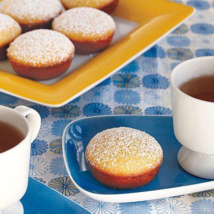 Lemon Tea Cakes Recipe | MyRecipes.com Mobile
