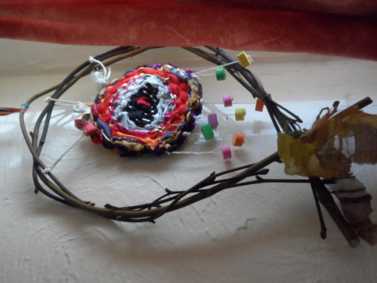 Branch weaving mobile