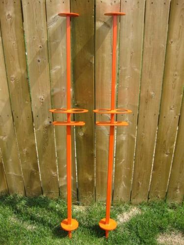 Beersbie poles, custom made in Red Deer! I will pick some of these up next time I am in town :)