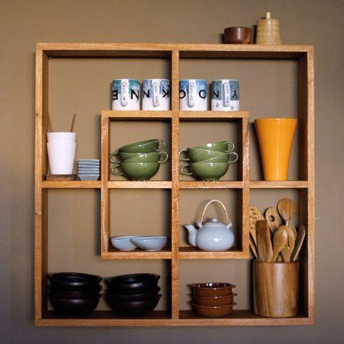 New kitchen shelf   por Geninne