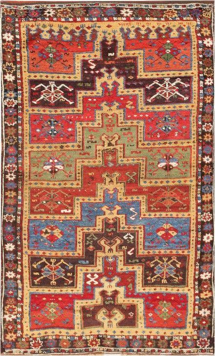 Turkish Yuruk rug, tribal, prayer rug