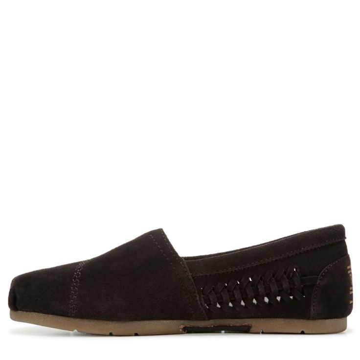 Skechers Women's Bobs Boho Crown Slip On Shoes (Chocolate Suede)
