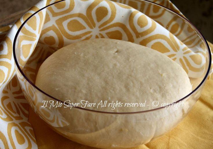 Pan brioche allo yogurt senza burro impasto base ricetta il mio saper fare