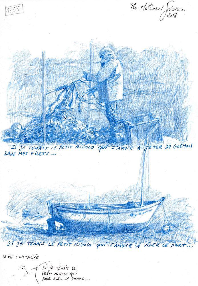 Une Bretagne par les Contours / Île Molène