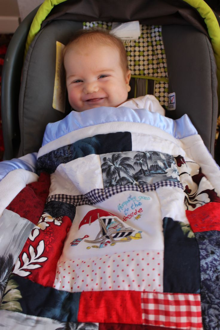 Gift for Baby , Car Seat Quilt  Tee Tee's Designs on Facebook