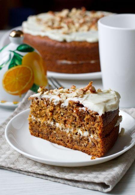 Морковный пирог с кремом из сливочного сыра - вкусные проверенные рецепты, подбор рецептов по продуктам, консультации шеф-повара, пошаговые фото, списки покупок на VkusnyBlog.Ru