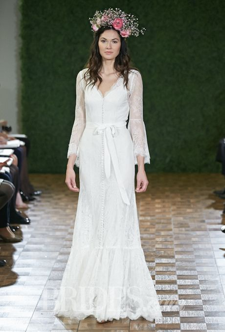 D i d by watters wedding dresses spring 2015 bridal runway for 70s inspired wedding dress