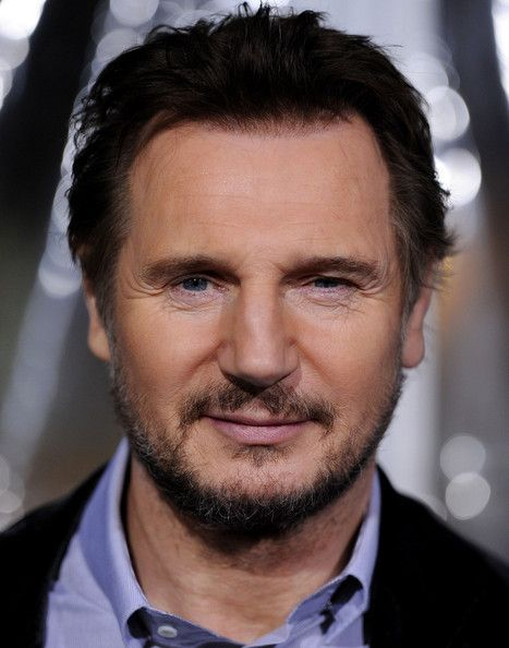 Liam Neeson- an unexpected kind of handsome. Not at all pretty, that's for sure.
