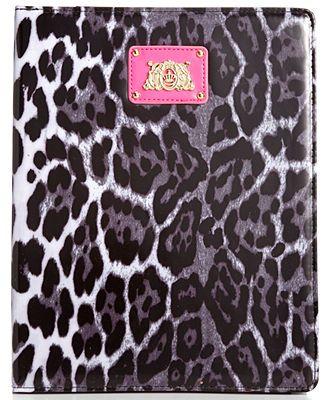 Juicy Couture Handbag, Functional Leopard iPad Case