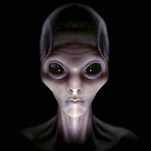 """Man Sends Photo of Supposed ET the MUFON  """"Grays Visit me since I was a Kid"""""""