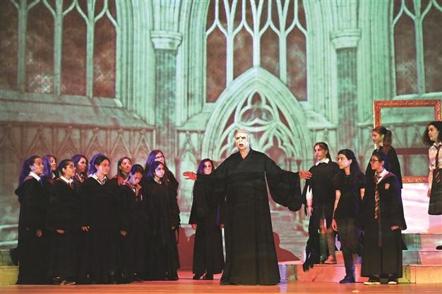 """The Mozart Academy has adapted J.K. Rowling's world famous book """"Harry Potter"""" for the opera stage, with proceeds from the production used to help children."""