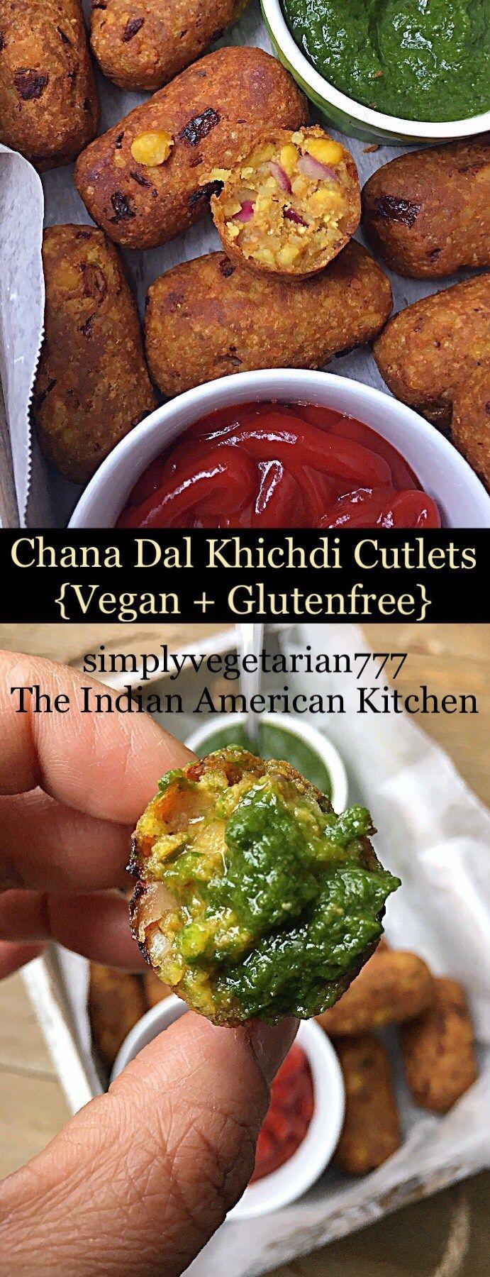 Chana Dal Cutlets