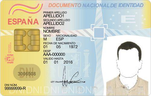 El DNI (Documento Nacional de Identidad)