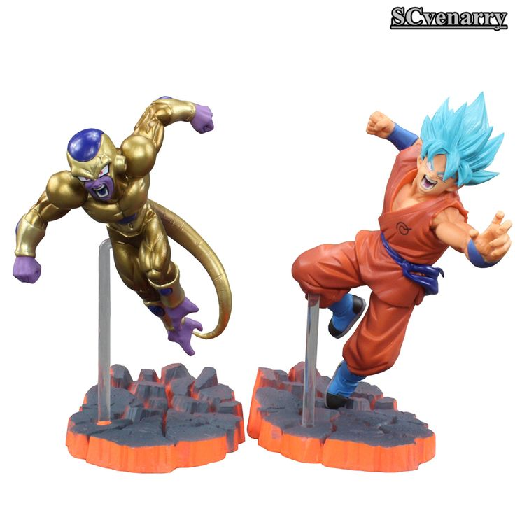 Dragon Ball Z Resurrection F Super Saiyan God goku Gold Frieza Battle Ver PVC Action Figure Model Collectible Toy Gift CSL45 World of Goku