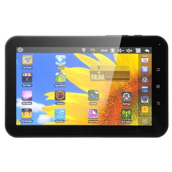 """Tableta MYRIA DC0236-4GB, Wi-Fi, 7"""", 4GB, Allwinner A10 1.0GHz, Android 4.0"""