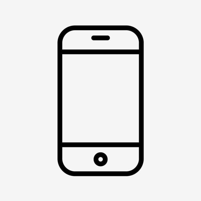 Vector Phone Cell Icon Phone Icons Cell Icons Cell Png And Vector With Transparent Background For Free Download Easy Doodle Art Phone Icon Simple Doodles