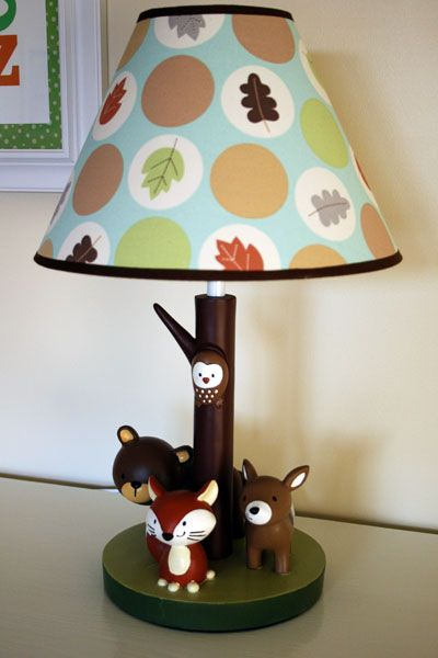 Cute Forest Friends Lamp Nursery Ideas Pinterest