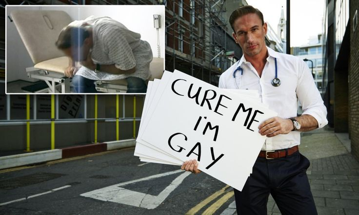 'You're gay because there are demons in you': Dr Christian Jessen breaks down in tears as he goes undercover to investigate bogus 'gay cures'