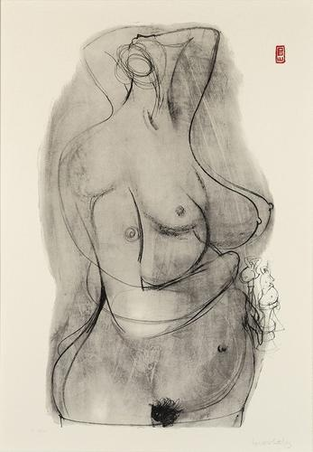 Brett Whiteley study for sculpture