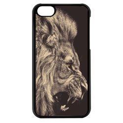 Coque Iphone 5c - Lion Rugissant Design - Ref 416