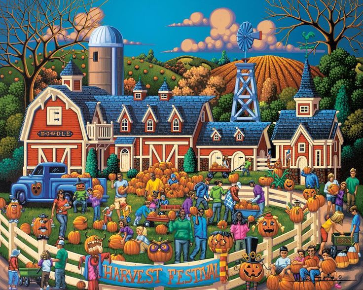 It's October! What does that mean? Harvest time Halloween corn mazes Jack-o-Lanterns and so much more! What are your harvest plans?