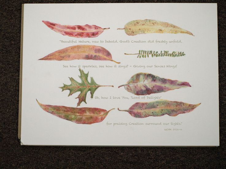 this poem  &(study in pastel) was inspired by autumn's beautiful colours.