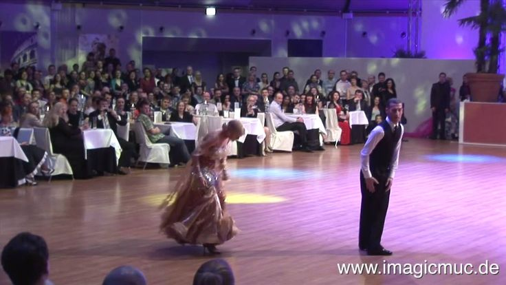 Quickstep - Paolo Bosco & Joanne Clifton - Euro Dance Festival 2014.  Oh, they're just so darn fantastic.