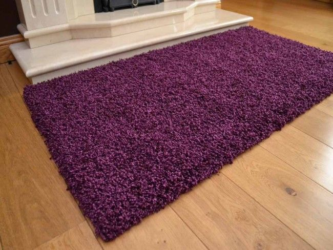 Plum Soft Touch Rug