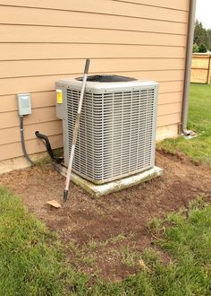 DIY AC Unit Cover - Hoeing