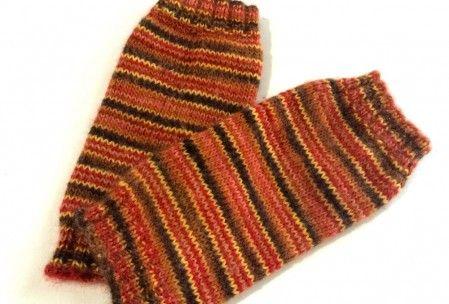 Self-striping Leg Warmer Knitting Pattern Gratia Project Knitting Pattern...