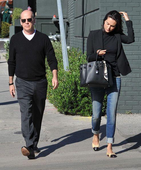 Bruce Willis Emma Heming-Willis Photos - Bruce Willis And Emma Heming Out For Lunch - Zimbio
