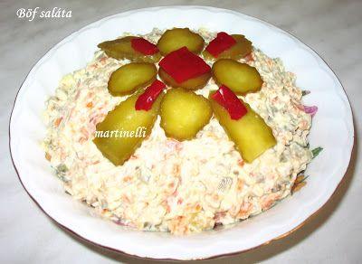 Salate de boeuf - Szaládéböf - Böf saláta - Franci...