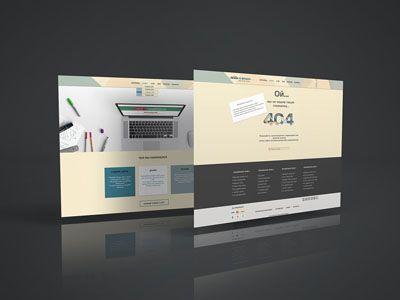 Портфолио   Сайт веб-дизайнера Яны Ходкиной.