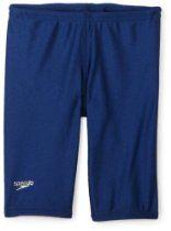 Speedo Boys 8-20 Solid Lycra Jammer Swimsuit