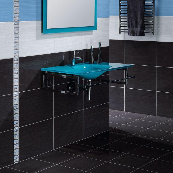 forum antracite ceramic wall tile black and white bathroom ideas black tiles better bathrooms