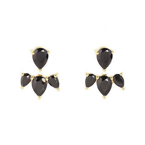 Sunny Black Onyx Earrings
