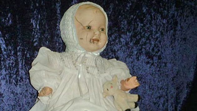 Mandy is a porcelain baby doll made in England or Germany between 1910 and 1920 and donated to the Quesnel Museum in British Columbia in 1991. Mandy's donor had said she would hear crying in the middle of the night coming from the basement, and it wasn't until after she gave Mandy away that the crying ceased. Though the crying stopped for the donor, strange occurrences continued as Mandy took up her new residency at the museum. Employees say lunches go missing, only to turn up elsewhere in…