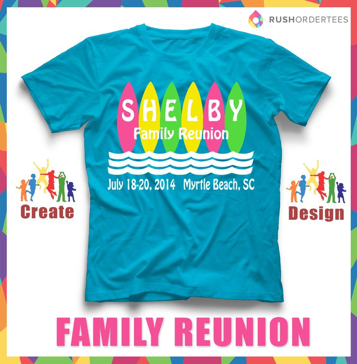 having a family reunion near the beach create customtshirts for your - Family Reunion T Shirt Design Ideas