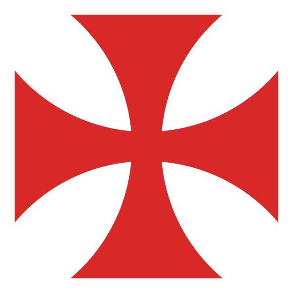 """Croix pattée rouge : une forme possible de la croix des Templiers - Il semble que la croix pattée rouge n'ait été accordée que tardivement aux Templiers, en 1147, par le pape Eugène III. Il aurait donné le droit de la porter sur l'épaule gauche, du côté du cœur. La règle de l'ordre et ses retraits ne faisaient pas référence à cette croix. Cependant, la bulle papale """"Omne datum optimum"""" la nomma par deux fois. Aussi est-il permis de dire que les Templiers portaient déjà la croix rouge en…"""