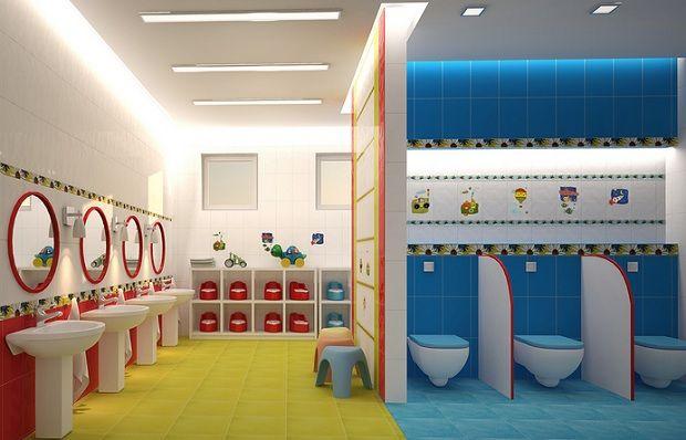 Картинки по запросу как оформить туалет в детском саду ...