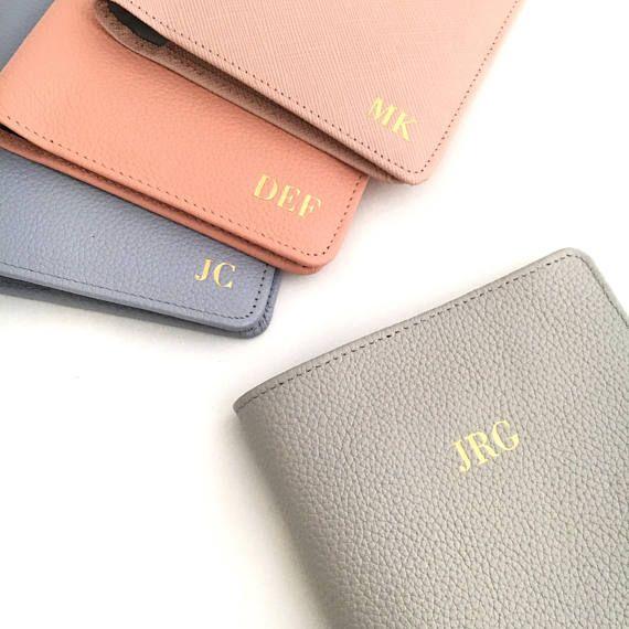 b90e34917722a Passport Cover - Monogram Passport holder- Personalized Leather ...
