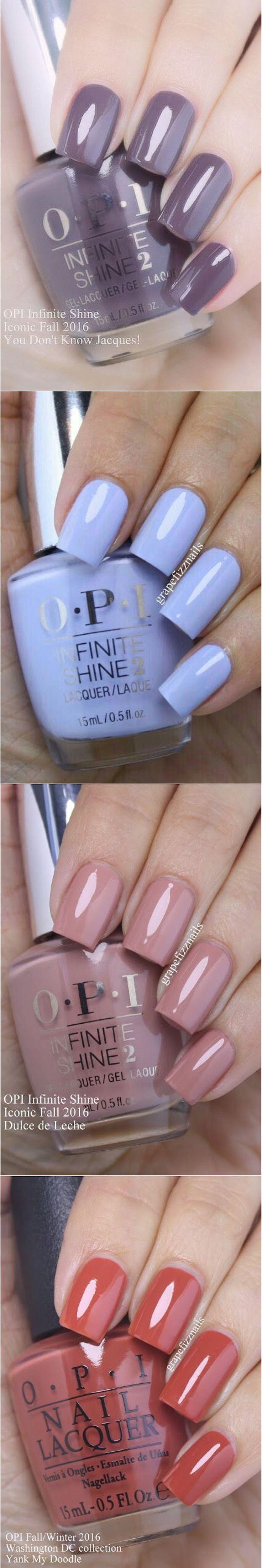 OPI Nail Polish Color Swatches  @grapefizznails
