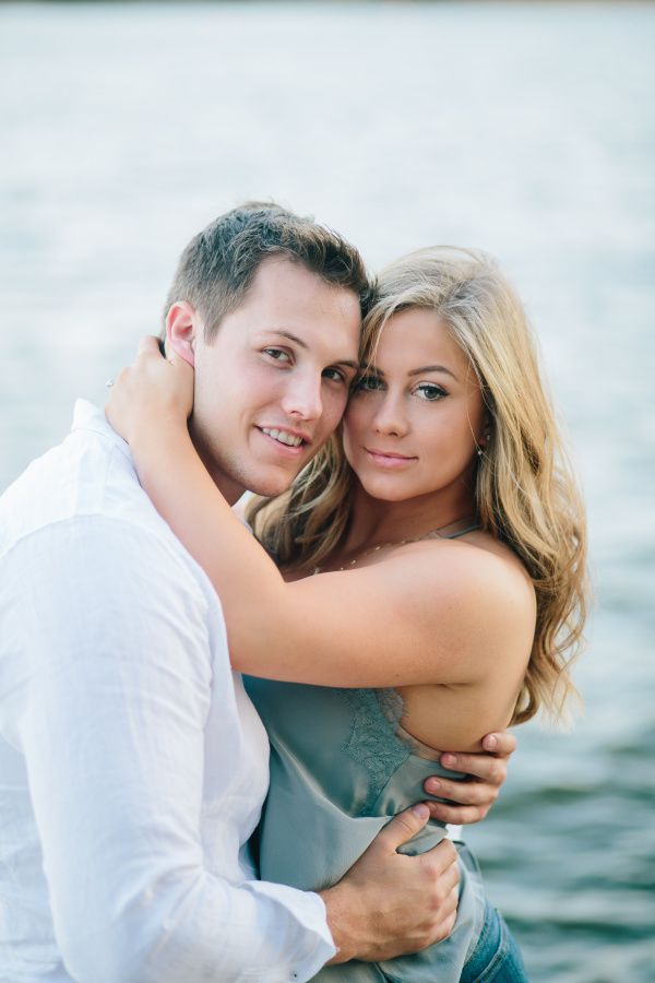Olympic gold medalist Shawn Johnson's e-sesh photos: http://www.stylemepretty.com/2016/04/16/gold-medalist-shawn-johnson-shares-her-adorable-engagement-photos/
