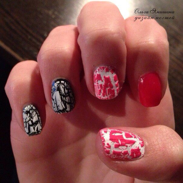 Гранж #nail #nails #ногти #маникюр #рисунок #мрамор #nailart #art #naildesign #design #nailstyle #style #marble