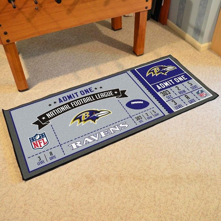 Baltimore Ravens Ticket Runner