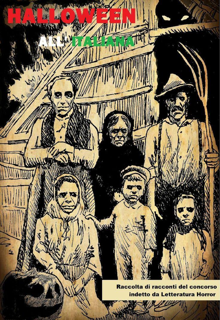 """Cover e-book """"Halloween all'italiana"""" - Edizioni - """"Letteratura horror"""""""
