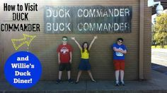 How To Visit Duck Commander {And Willie's Duck Diner} in West Monroe, Louisiana!