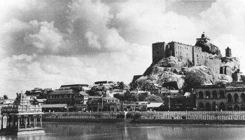 Trichy Rock-fort temple.